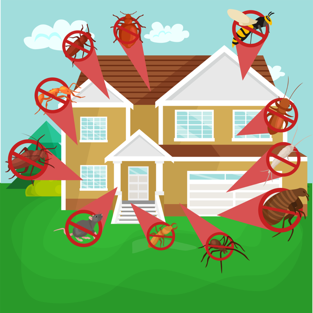 Unsure how to prevent pests? Ask Van Den Berge Pest Control to protect your home inside and out.